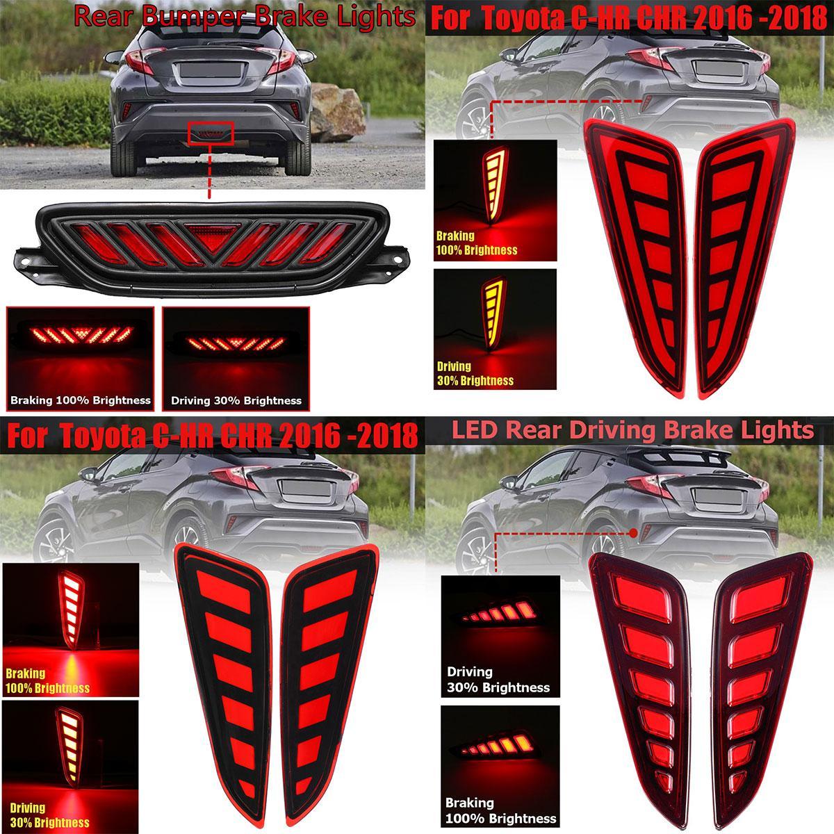 Автомобильный Стайлинг, Светодиодный отражатель, задний противотуманный фонарь, светильник заднего бампера, стоп-сигнал, светильник s для ...