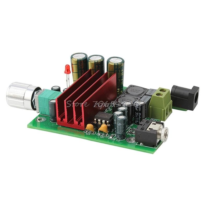 TPA3116D2 Subwoofer Digital Power Amplifier 100W AMP Board Audio Module Z09 Drop ship 10 x 10 cm tda8950 2x170w digital subwoofer class d audio amplifier board amp module diy circuits boards modules durable