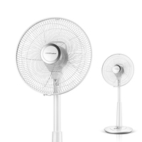 22% cooling fan Mechanical Electric Fan Desktop & floor Stand Fans 60min timing mute Head Shaking Height adjustable 3 gear 50W