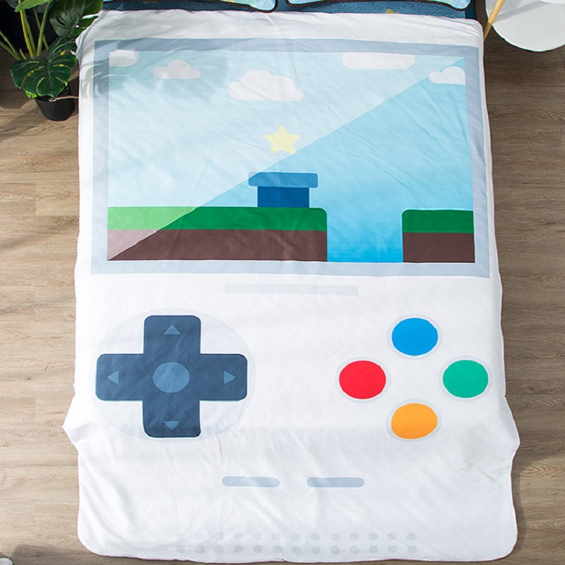 3D Game Machine Printed Blanket Big Size Weighted Blanket Sofa Bed Throw Blanket Kid Bedding Adult Warm Winter Blanket