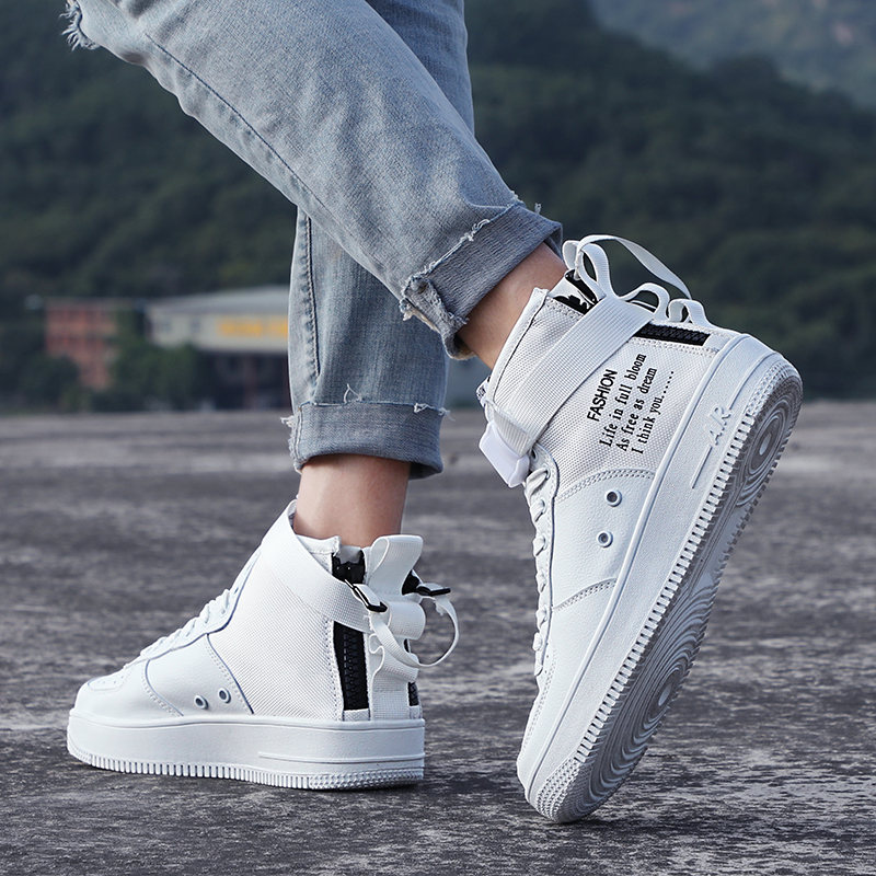 High top parallel Canvas shoes Force One sneakers men sport shoes women running shoes for men Unisex trainers zapatos de mujer 6