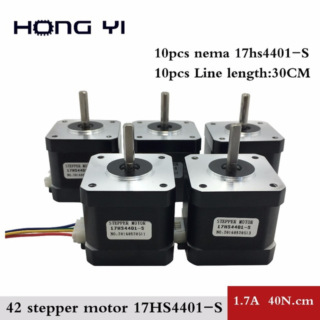Buy best prices 10pcs nema17 stepper for Stepper motor holding torque calculator