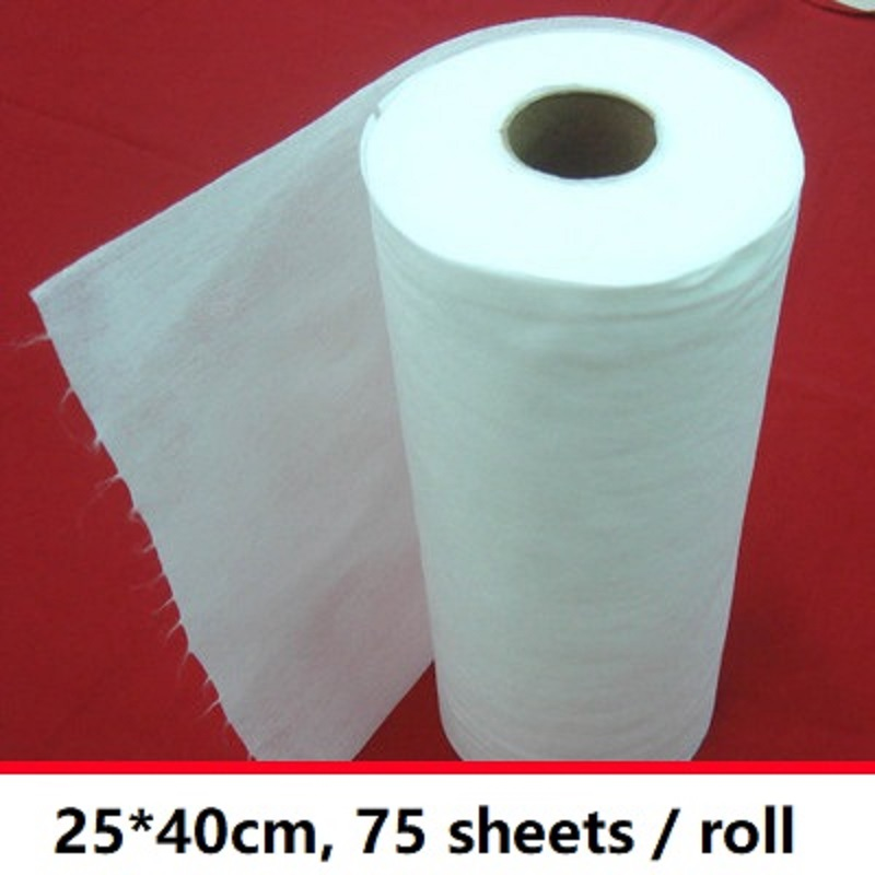 clean furniture non woven fabric scouring pad 75sheets/roll multi purpose dishclout electrostatic dust paper for swiffer XXL|dust paper|electrostatic dust|electrostatic paper - title=