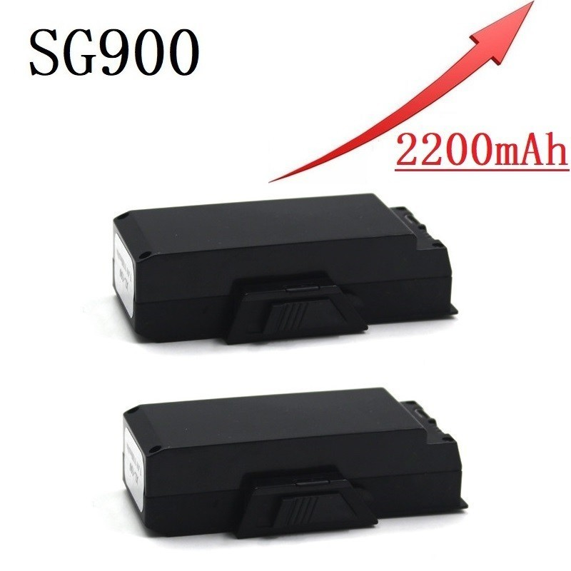 Upgrade 2200mAh 3.7V  Lipo Battery For SG900 F196 X196 X192 RC Helicopter Quadcopter Spare Parts SG-900 3.7v Drone Battery 2pcs