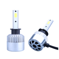 2x H1 Led Car Headlight 16000LM 110W High Power COB Led Low Beam Bulbs 6500K White