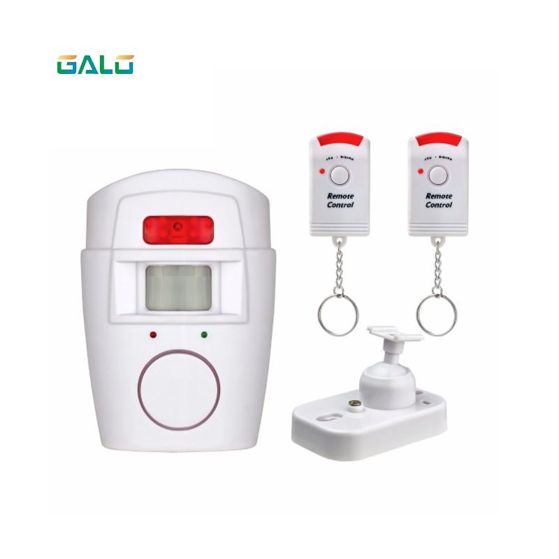 Home Security PIR MP Alert Infrared Sensor Anti-theft Motion Detector Alarm Monitor Wireless Alarm system+2 remote controller джемпер hilfiger denim dm0dm02819 099 black iris htr