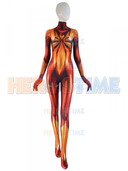 3D Printed MJ Iron Spider Costume Mary Jane Spider Girl Cosplay Suit Zentai Spider woman Lycra