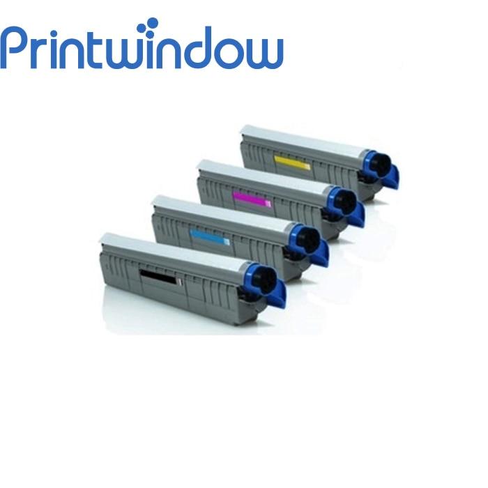 цена на Printwindow Compatible Toner Cartridge for OKI C801/821