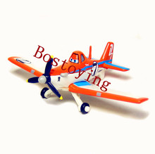 Pixar Planes No.7 Dusty Crophopper Diecast Metal Toy Plane 1:55 Loose New In Stock & Free Shipping