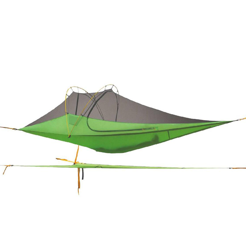 HIMAGET Camping Tents Hammocks Mosquito Nets Suspended Aluminium Pole Outdoor Tents Beach Travel 2 Person Hammock Tent 2 people portable parachute hammock outdoor survival camping hammocks garden leisure travel double hanging swing 2 6m 1 4m 3m 2m