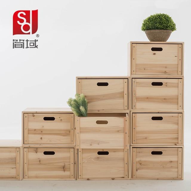 Jane Domain Wood Bookcase Free Combination Ikea Small Grid Cabinet Storage Lockers Locker Simple Bookshelf