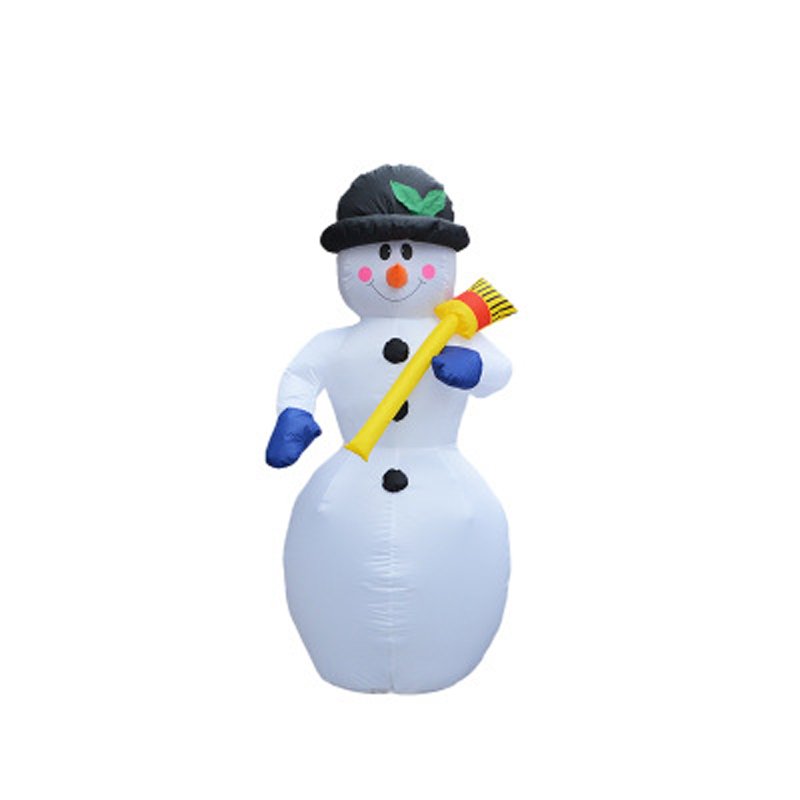 Aufblasbare Weihnachtsmann Weihnachtsdekoration Für Hotels Abendessen Markt Aufblasbare Schneemann Blow Up Weihnachten Ornamente Neues Jahr dekor - 5