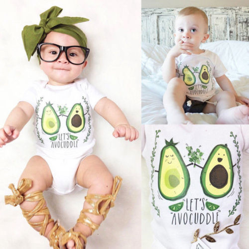 Newborn Infant Kids Baby Boy Girl Clothes Romper Jumpsuit Outfits 0-24M