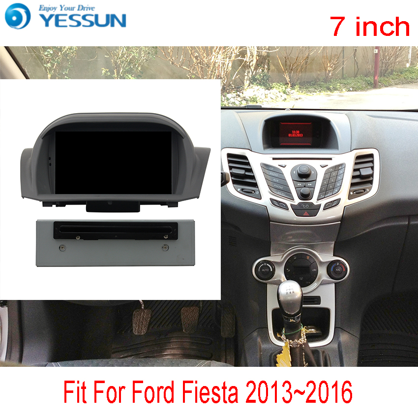 YESSUN For Ford Fiesta 2013~2016 Android Car Navigation GPS Audio Video Radio HD Touch Screen Stereo Multimedia Player. yessun for ford eossport 2015 2017 car navigation gps android audio video hd touch screen stereo multimedia player no cd dvd
