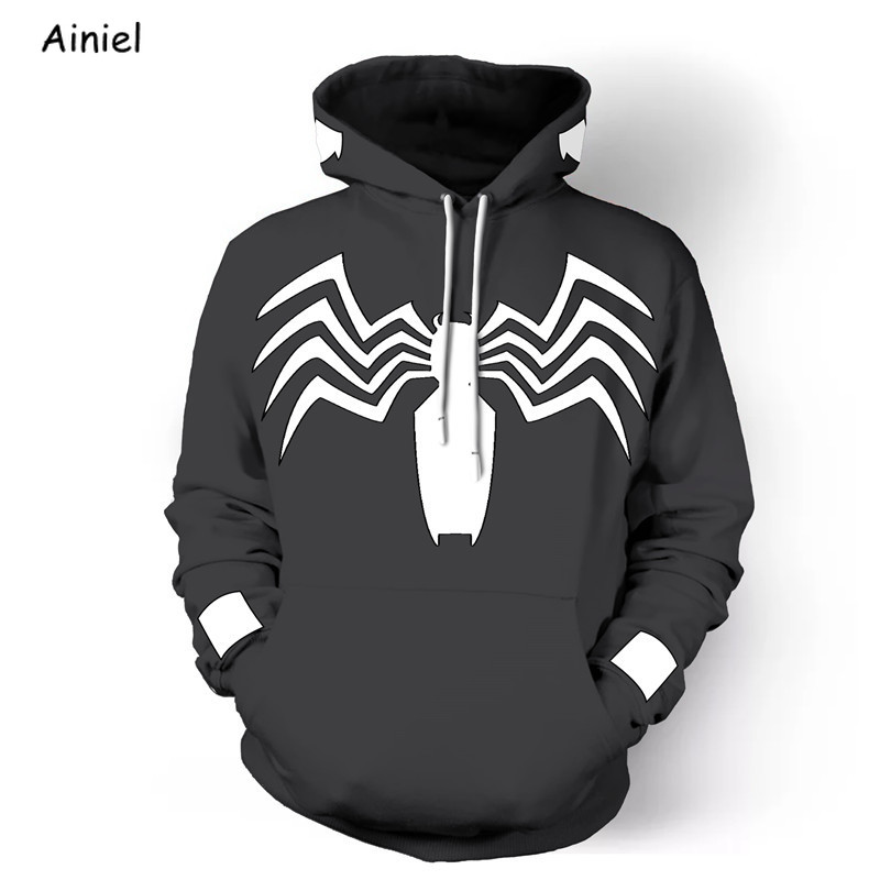 Movie Spiderman Cosplay Costumes Coat Sweater Hoodie Sweatshirts Casual Coat Autumn Spider Man Halloween for Men Women Adult