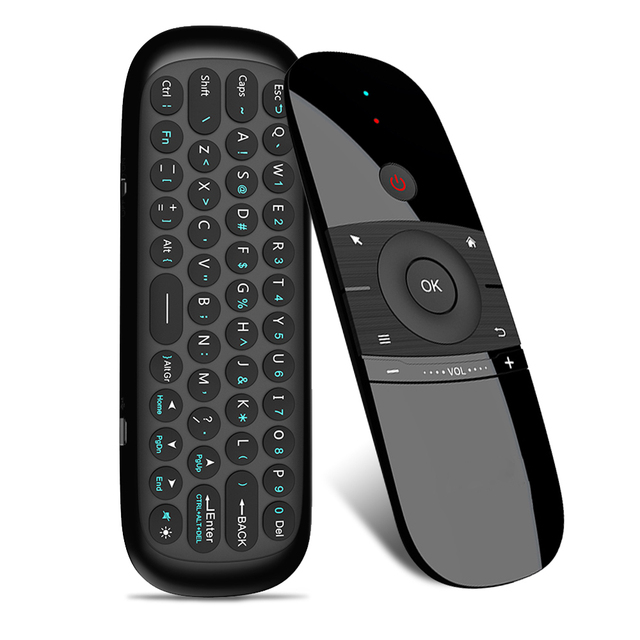 Air Mouse Wireless Keyboard 2.4G Rechargeble Motion Sense Mini Remote Control For Smart Android TV BOX