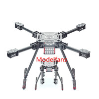 Lji ZD550 550mm 4 Axis Carbon Fiber Quadcopter Frame Umbrella Folding with Landing Gear for FPV