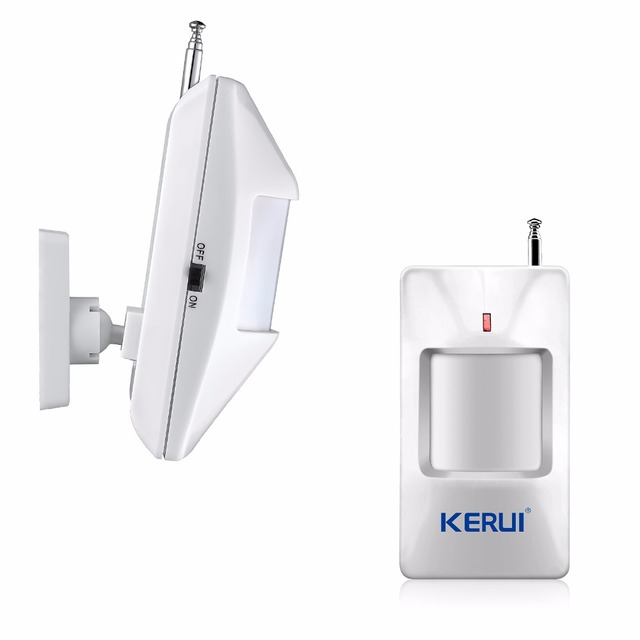 KERUI M7 Welcome Chime Doorbell Wireless Infrared IR Motion detector Sensor Door bell welcome Alarm Entry Doorbell