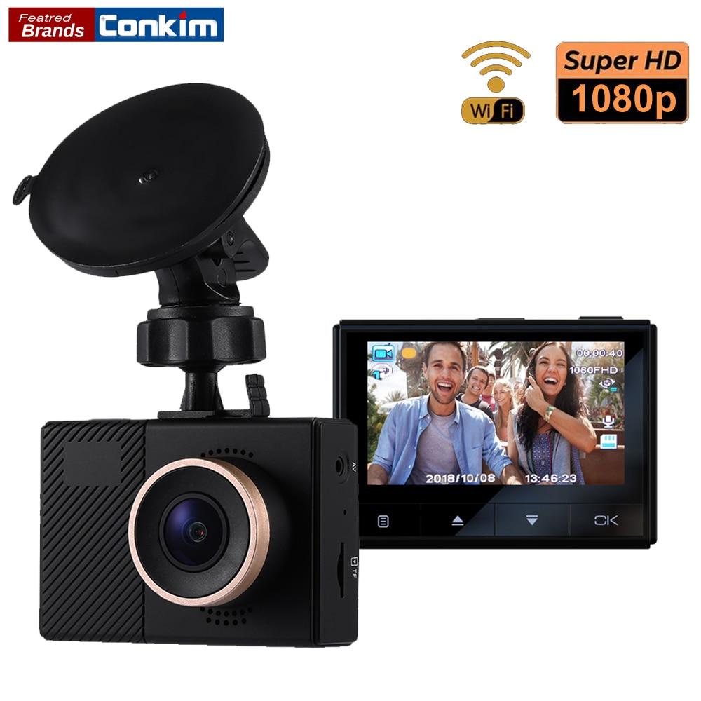 Conkim New Mini DVR Dash Cam G70+ 1080P Full HD Wifi Camera Car DVR Novatek Chips 140 Degree Wide Angle Auto Video Recorder