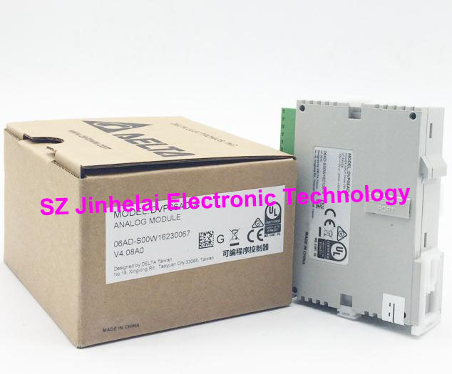 100% New and original DVP06SN11R  Delta   Plc controller  extension new original delta dvp06sn11r dc24v plc 6do relay module