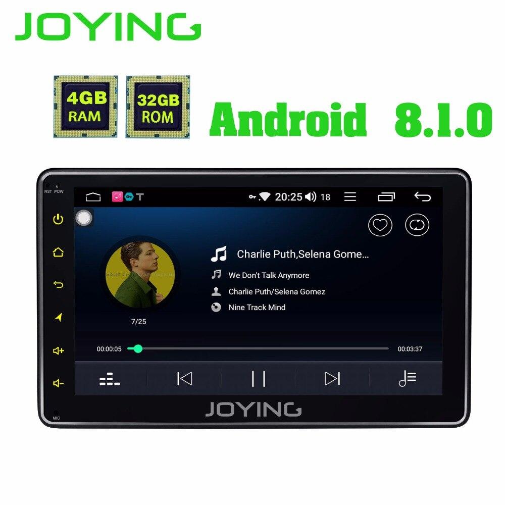 JOYING 4GB Android 8 1 Single DIN 7 Universal Car Radio Player Monitor Audio Stereo Car
