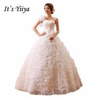 2017 Novo Mais o tamanho Do Casamento de Rosa Vestidos de Um Ombro Vermelho branco Vestidos de Noiva Custom Made Real Photo Vestidos De Novia XXN083
