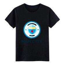 Mens Manchester city t shirt Customize cotton size S-3xl Trend Gift Basic Spring Autumn Kawaii