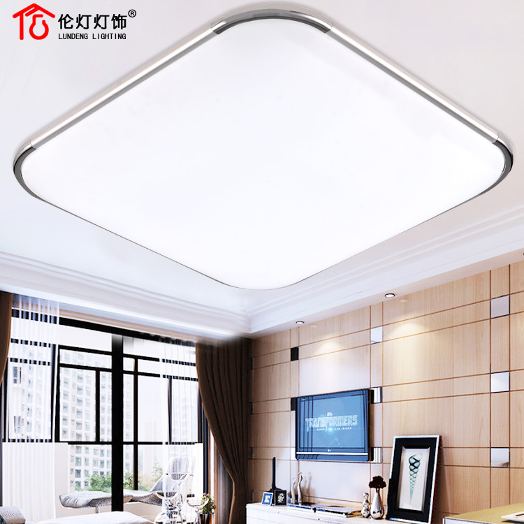Ultra thin energy saving LED panel light exquisite ...