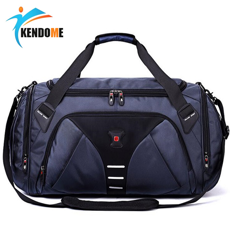 Large Multi-function Sports Gym Bag Men Women Training Fitness Handbag With Shoes Pocket Waterproof Outdoor Travel Shoulder Bags professional sports gym bag outdoor men women travel handbag luggage duffle bags multifunctional fitness training shoulder bags