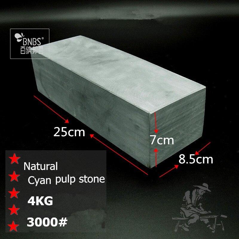 BNBS Pulpstone Naturale 3000 # Sei faccia lucidatura pietra nitidezza Naturale Affilatura pietre Extra-Large 250*85*70mm Trasporto Libero del DHL