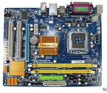Original GA-G31M-ES2C support DDR2 775 -pin integrated small plate G31 Motherboard