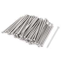 M3 X 60mm 304 Stainless Steel Phillips Pan Head Screws Bolt 60pcs