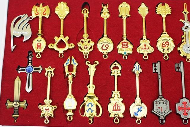 Fairy Tail Lucy Keys Set