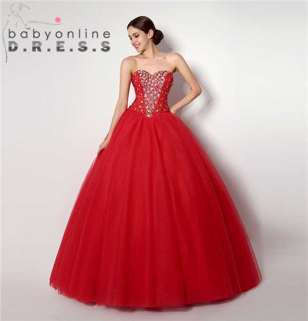 Online Get Cheap Red Sweet 16 Dress -Aliexpress.com | Alibaba Group