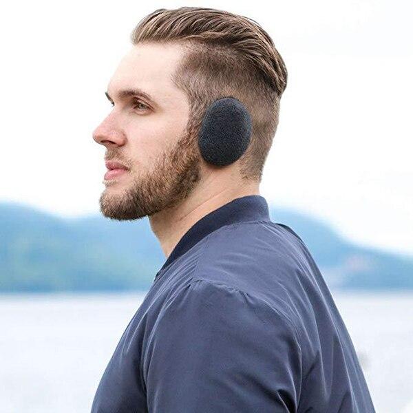 Hot 1 Pair Earbags Bandless Ear Warmers Earmuffs Autumn Winter Outdoor Ear Warmer SMA66