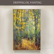 Высокое качество, Клода Мона, произведение искусства, деревянная переулка, масляная живопись на холсте, ручная роспись, деревянная переулка, масляная живопись