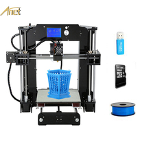 Best Sell Anet Industrial 3D Printer A8/A6 DIY 3D Printer Kit Self Assembly Desktop High Accuracy Nozzle Extrude Home 3D Printer wanhao d5s mini desktop 3d printer with high performance and accuracy industrial level with printing size 290 190 190mm