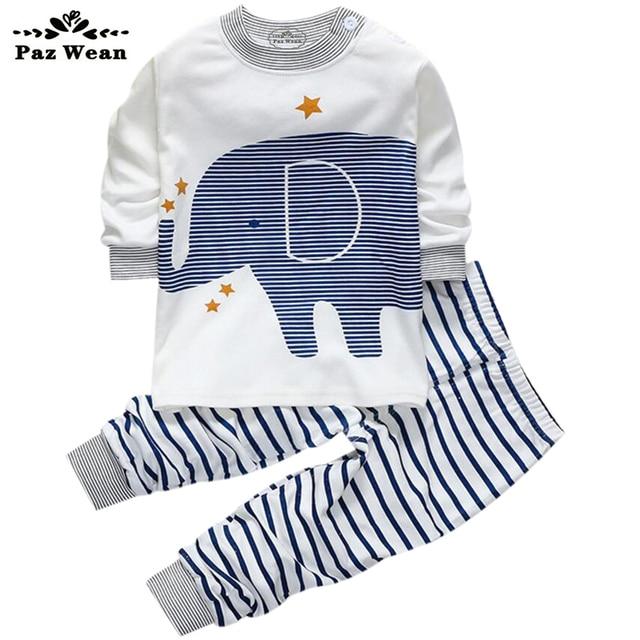 15717bd1c3 Niños chándal ropa niños Outwear set ropa recién nacidos bebé PJ niños pijamas  para bebés niños