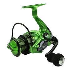 Fishing Reels Metal Rocker Arm XF1000-7000 Series Spinning Reel EVA Handle 13+1BB