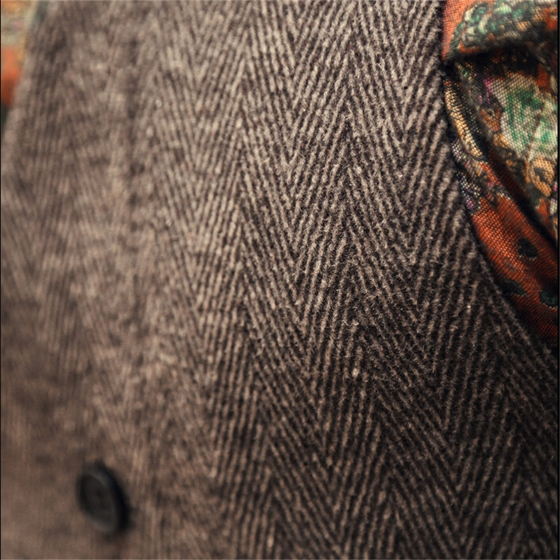 Chaleco de los hombres del otoño de la manera ocasional de la - Ropa de hombre - foto 4