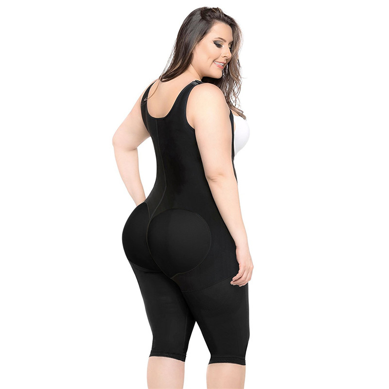 9009de0281 CR Plus Size 5XL Hot Latex Women s Body Shaper Post Liposuction ...