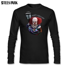 79f6951ac Pennywise Stephen King It Movie Evil Clown Killer Clown Scary Clown T Shirt  Men's Printed Round