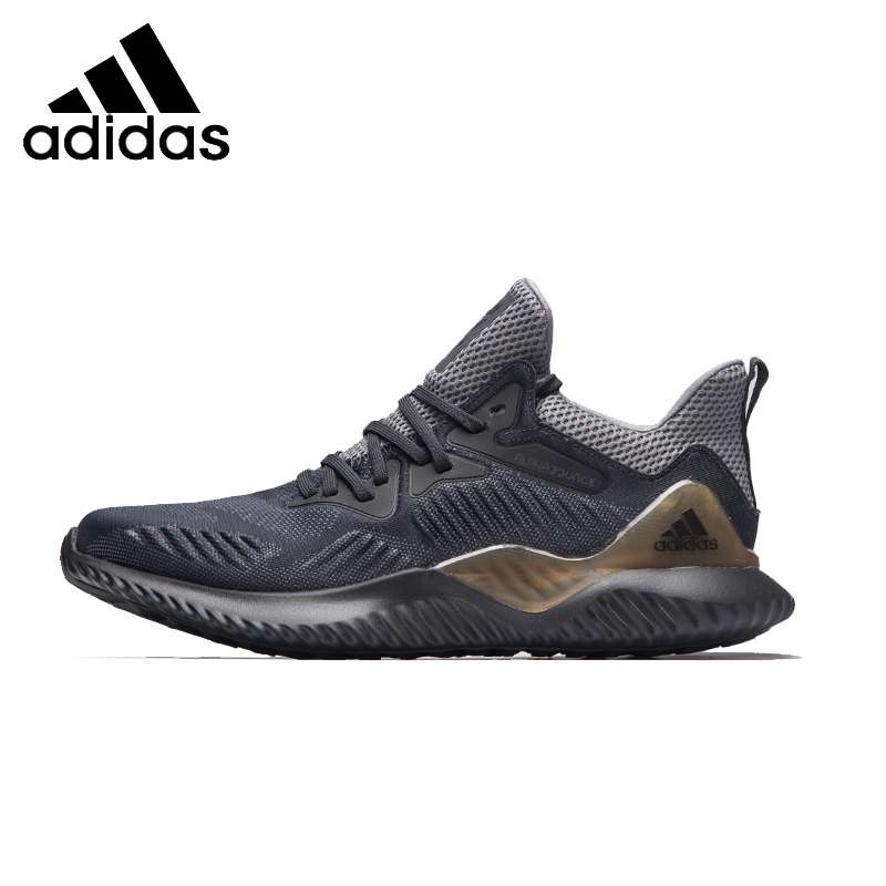 ADIDAS Alphabounce Beyond Mens Running Shoes Mesh Breathable Stability Support Sports Sneakers For Men Shoes