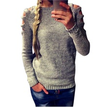 Женский свитер Women Knit Long Sleeve