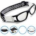 2017 Marca Sports Óculos de Proteção da Criança Óculos CRIANÇAS Óculos de Futebol Basquete Drible Óculos Tag Óculos de Miopia lente
