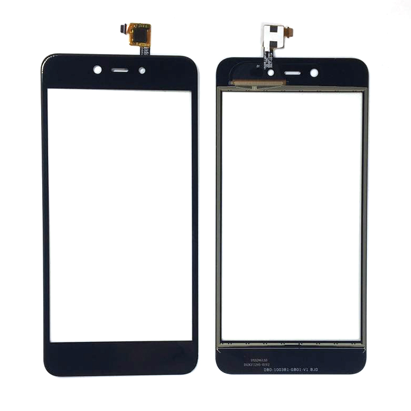 For BQ 5209 BQ-5209L Strike LTE BQ5209L Capacitive Touch Screen Digitizer Front Glass Replacement TouchScreen With 3m Sticker