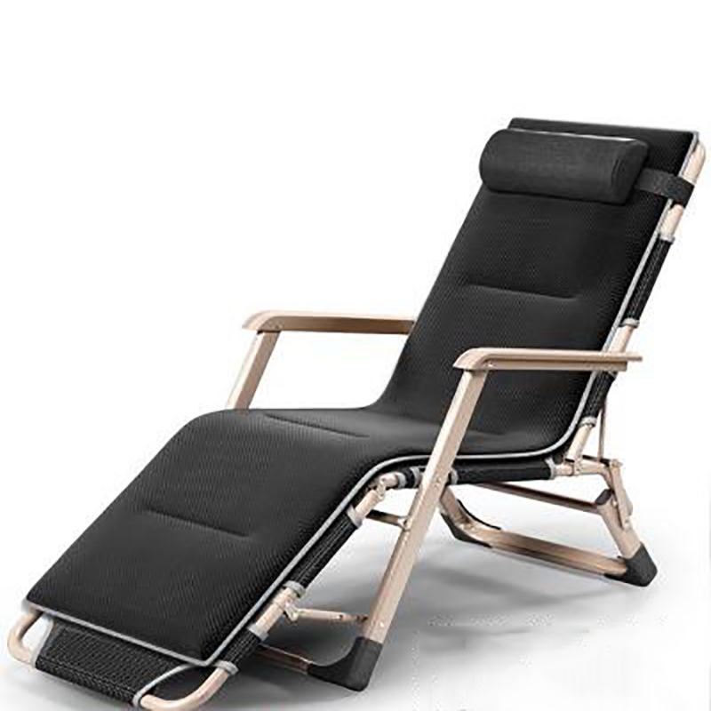 Canapé Chaise lit pliant Unique Bureau Sieste Pause Déjeuner Paresseux Personne Chaise Dossier