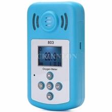 DHL 5 sztuk 803 Pro Mini LCD miernik tlenu przenośny tlen O2 detektor stężenia analizator gazów z Alarm dźwiękowy i świetlny tanie tanio CKINNFON CN (pochodzenie) Description Show See Description