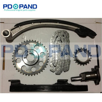 1FZ 1 1FZFE 1FZ-FE Kit Corrente Do Sincronismo Do Motor Engrenagem Tensor (6 pcs) para Toyota Land Cruiser 4500 FZJ80 4700 FZJ100 4.5L