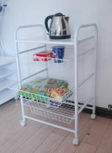 Diners. Cart. Shelf. Receive a rack in the kitchen. Rice cooker.